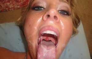 Cum In MILF Mouth Porn